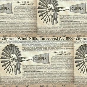 1906 Clipper Wind Mills Advertisement-ed