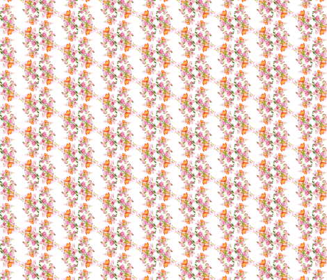 delicate flowers fabric by krs_expressions on Spoonflower - custom fabric
