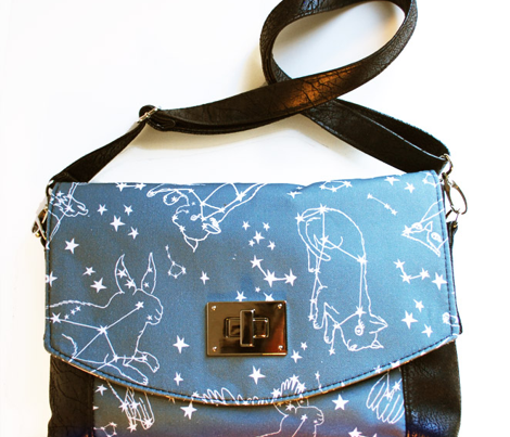 Andrea Lauren Animal Constellations - Dark Grey