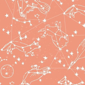 Animal Constellations - Tea Rose
