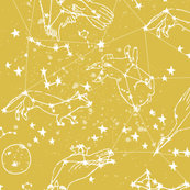 Animal Constellations - Mustard