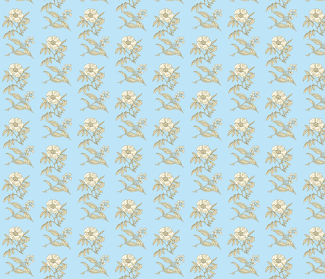 les_fleurs fabric by mammajamma on Spoonflower - custom fabric