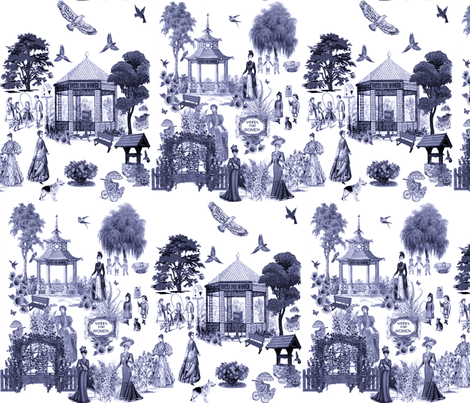 VOTES FOR WOMEN  fabric by bluevelvet on Spoonflower - custom fabric