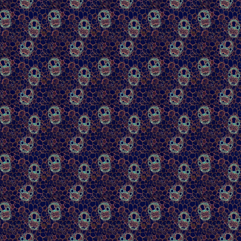 Cell Geo fabric by gimlet on Spoonflower - custom fabric