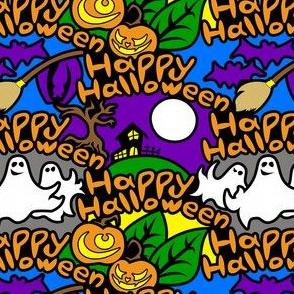 Happy Halloween (Graffiti Style)