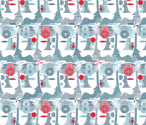 Fast Lady fabric by spellstone on Spoonflower - custom fabric