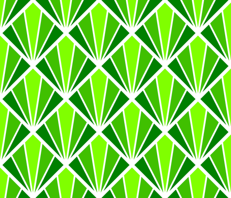 deco diamond 5 (W) fabric by sef on Spoonflower - custom fabric