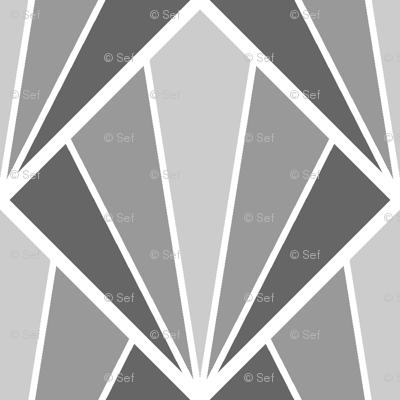 deco diamond 5W : grey