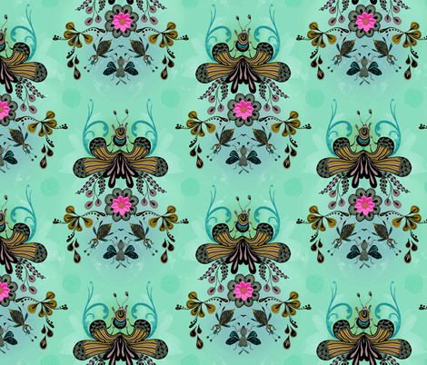 A Bugs Life fabric by milliondollardesign on Spoonflower - custom fabric