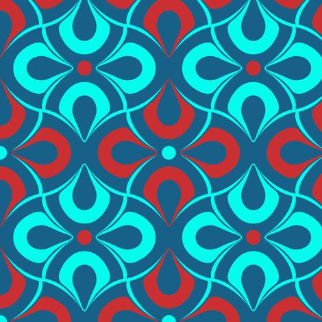 tile fabric by katarina on Spoonflower - custom fabric
