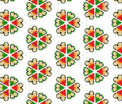 rus_dolls_1 fabric by ruslanus on Spoonflower - custom fabric