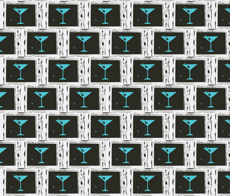 Martini Time 3-ch fabric by jackofalltradescrafter on Spoonflower - custom fabric