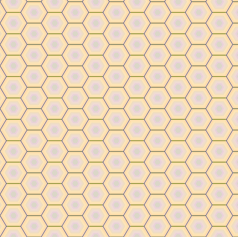 Sweet Honeycomb fabric by gimlet on Spoonflower - custom fabric