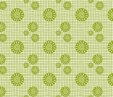GeoPlaidOL fabric by yellowstudio on Spoonflower - custom fabric