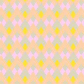 Pastel Argyle