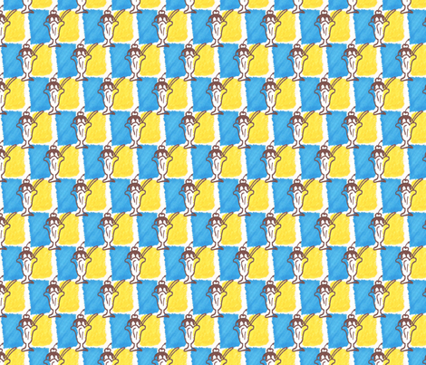 Ice Cream Sundae fabric by siya on Spoonflower - custom fabric