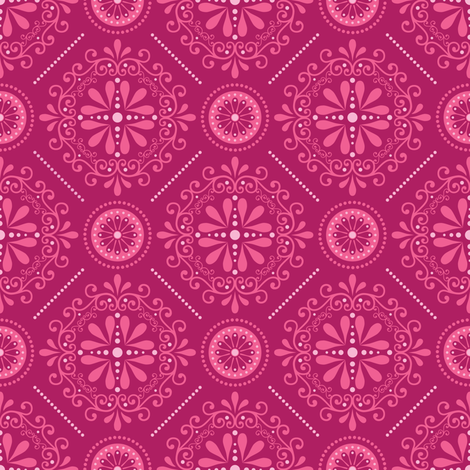 Stellar Damask fabric by robyriker on Spoonflower - custom fabric