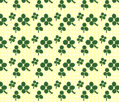 Lucky fabric by terridee on Spoonflower - custom fabric