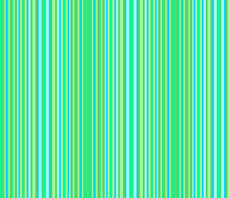 green & blue stripes fabric by krs_expressions on Spoonflower - custom fabric