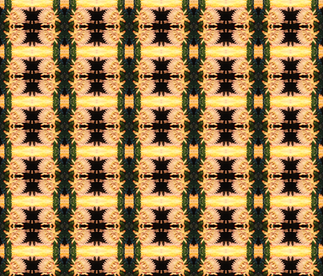cactus flower small fabric by krs_expressions on Spoonflower - custom fabric