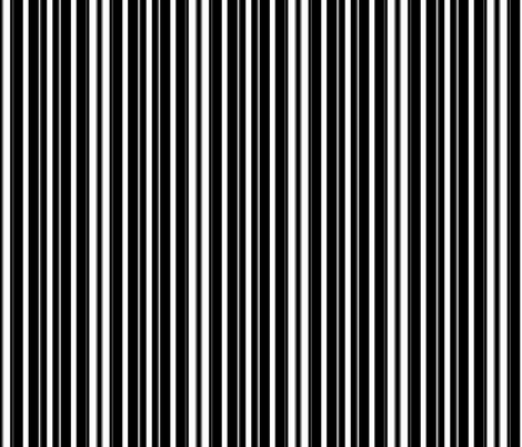 black & white stripes fabric by krs_expressions on Spoonflower - custom fabric