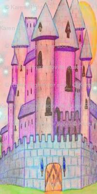 castle pastel