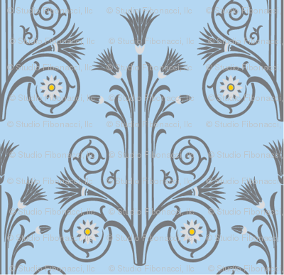 Lotus Damask (large)