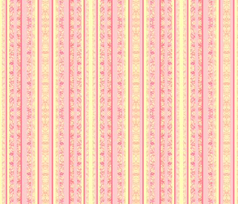 pastel pink stripes fabric by krs_expressions on Spoonflower - custom fabric