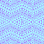 light blue zig zag