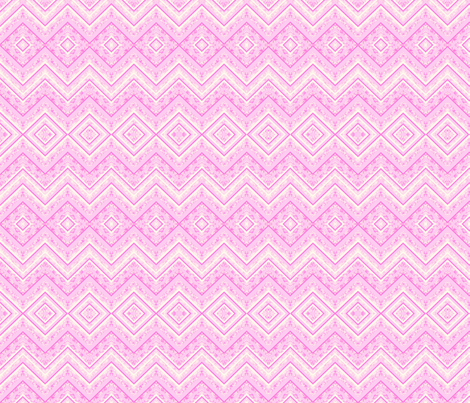 pink zig zag fabric by krs_expressions on Spoonflower - custom fabric