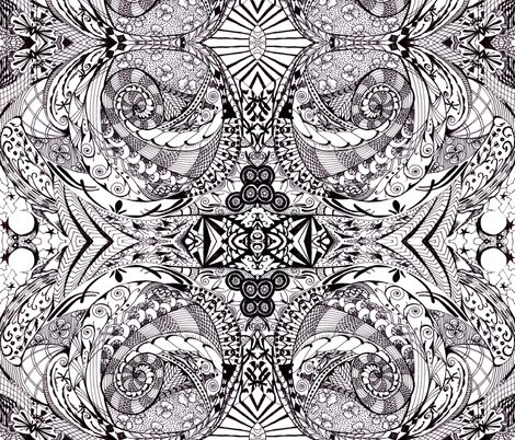 Art_Deco fabric by doodledandy on Spoonflower - custom fabric