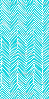 freeform  arrows in turquoise