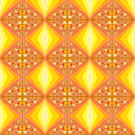 Summer in the Sun by Su_G fabric by su_g on Spoonflower - custom fabric