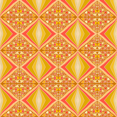 Summer in the City by Su_G fabric by su_g on Spoonflower - custom fabric
