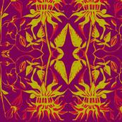 Beebalm Violet/Red/Chartruese