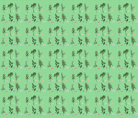 herbs fabric by krs_expressions on Spoonflower - custom fabric