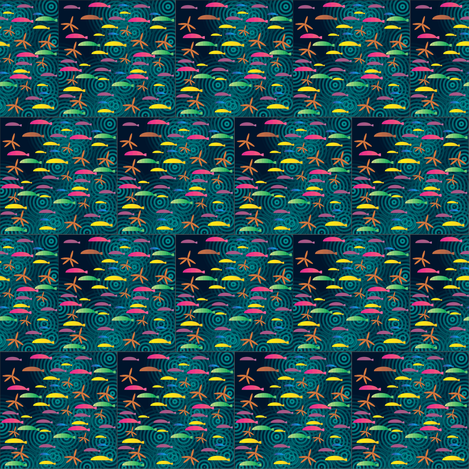 Ditsy_fish_spoonflower_1_2012 fabric by compugraphd on Spoonflower - custom fabric