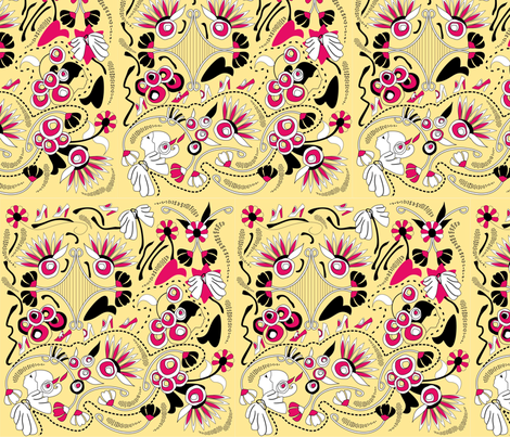 ART_DECO fabric by studioestel on Spoonflower - custom fabric