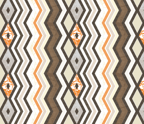 zigzag-herringbone fabric by wren_leyland on Spoonflower - custom fabric