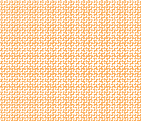 Houndstooth in Orange Dream fabric by audzipan on Spoonflower - custom fabric