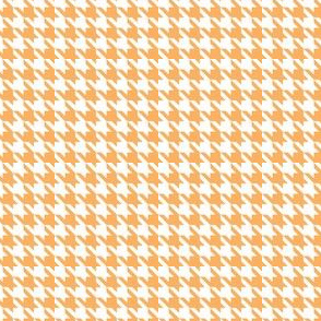 Houndstooth in Orange Dream