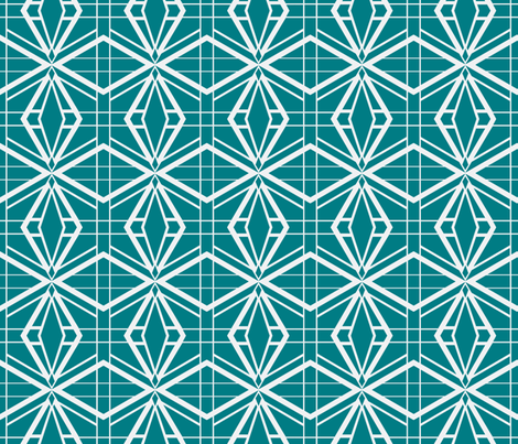 Thoroughly Deco fabric by miart on Spoonflower - custom fabric