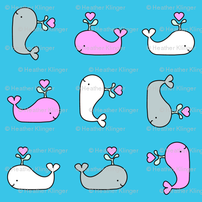 Heart Whales