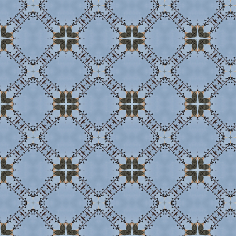French Angels Gabriel 7 fabric by dovetail_designs on Spoonflower - custom fabric