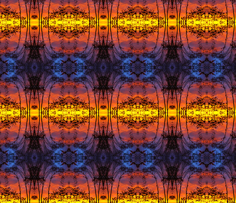 sunset fabric by krs_expressions on Spoonflower - custom fabric
