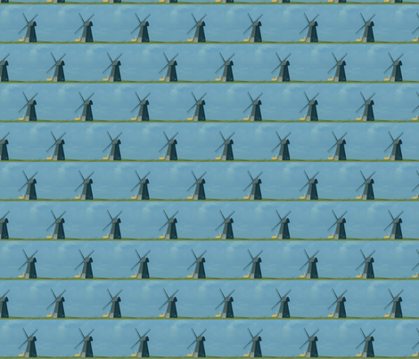 windmill fabric by krs_expressions on Spoonflower - custom fabric