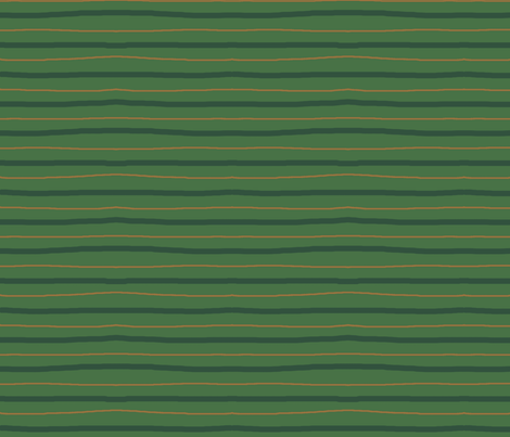 green_art_deco_stripes2 fabric by wiccked on Spoonflower - custom fabric