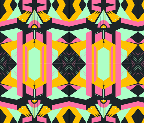 artdeco1 fabric by azaliamusa on Spoonflower - custom fabric