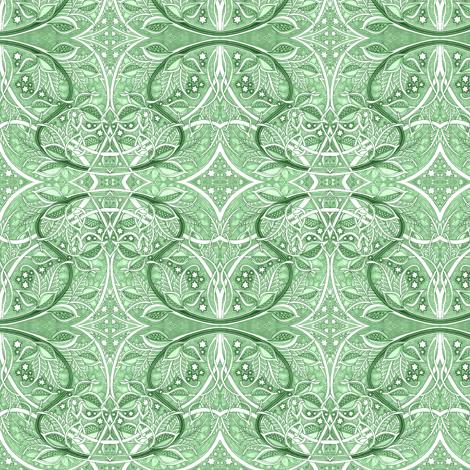 Mint Stardust Symphony fabric by edsel2084 on Spoonflower - custom fabric