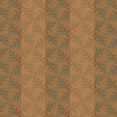Hut Mat fabric by david_kent_collections on Spoonflower - custom fabric
